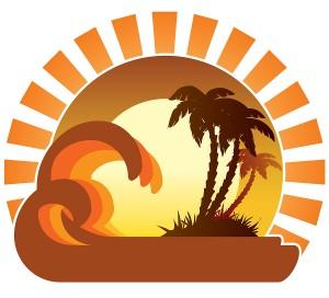 bigstock Waves Sunset Tropical Island 3051601 300x272 - Allinclusiveresa.se